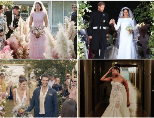 5 vestidos de noiva de celebridades pra se inspirar Ainda não escolheu o seu vestido de noiva? Inspire-se nessas celebridades para encontrar o seu modelo dos sonhos!