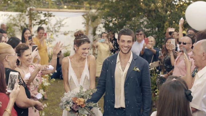 Vestidos de noiva de celebridades: Laura Neiva