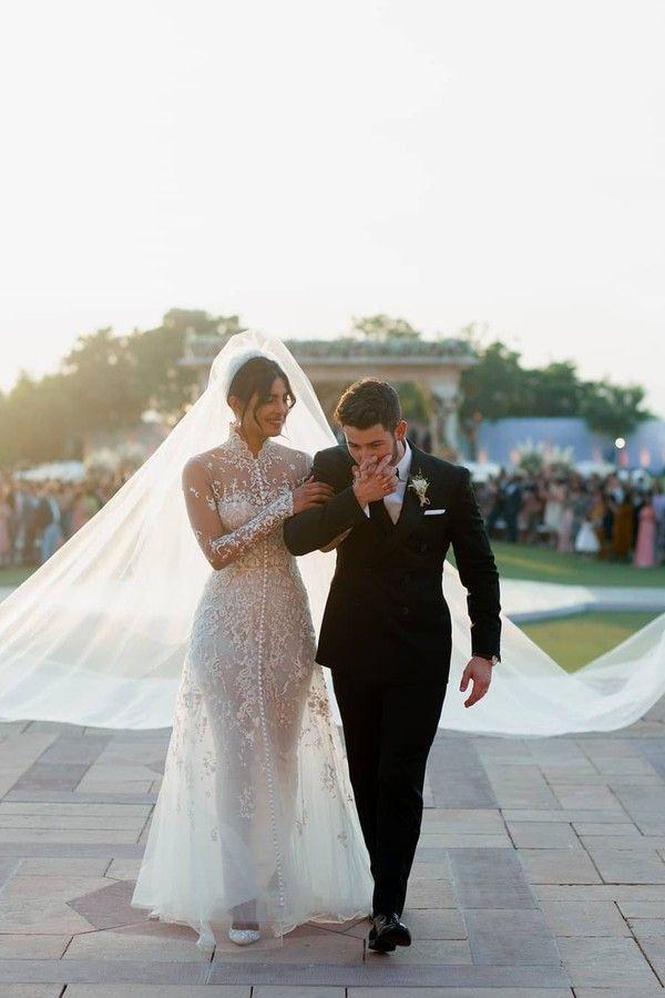 Vestidos de noiva de celebridades: Pryianka Chopra
